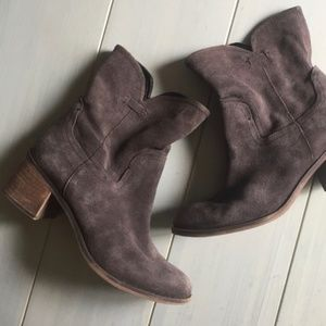 Franco Sarto Leather Mission Boots